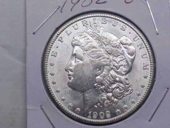 1902O MORGAN DOLLAR BU