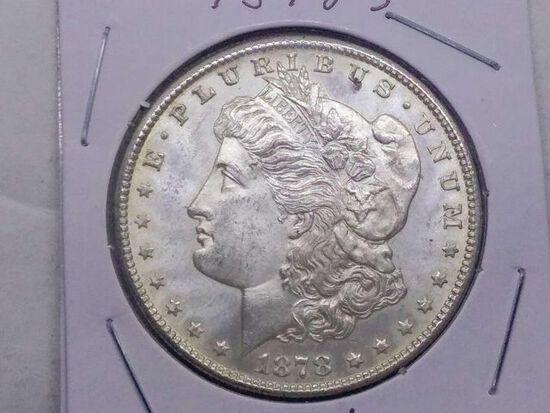 1878S MORGAN DOLLAR BU