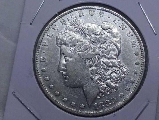 1880O MORGAN DOLLAR XF
