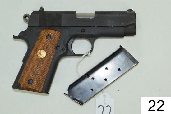 Colt    Officer's ACP    MK-4 Series 80    Cal .45 ACP    2 Mags    Like NI
