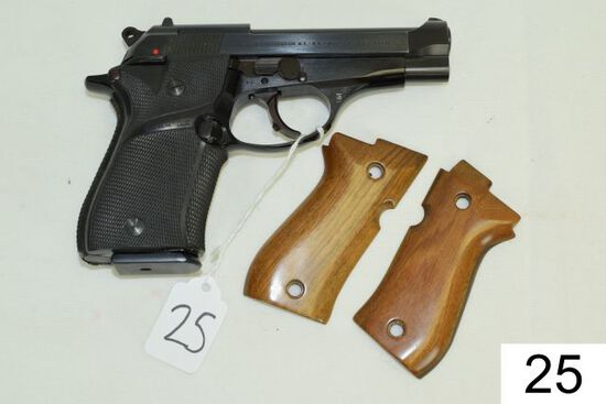 Beretta    Mod 84    Cal .380    Pachmeyer Grips    Orig. Grips Included