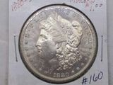 1880S MORGAN DOLLAR BU