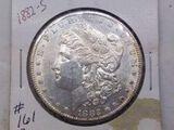 1882S MORGAN DOLLAR UNC