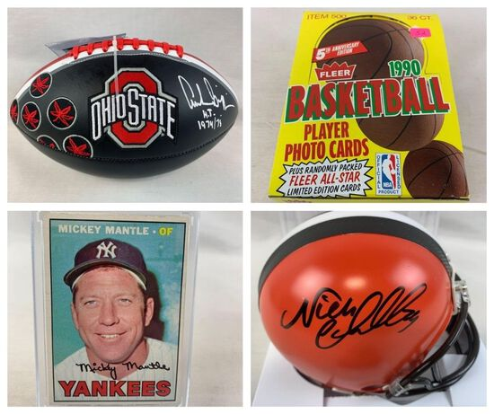 Sports Auction #21- Sports Cards & Memorabilia
