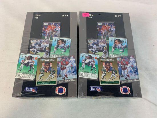1991 Fleer Ultra football sealed boxes (2)