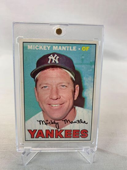 Mickey Mantle 1967 Topps card #150