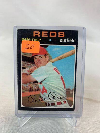 1971 Topps Pete Rose card