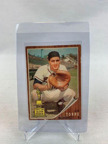 1962 Joe Torre Topps baseball Rookie Card
