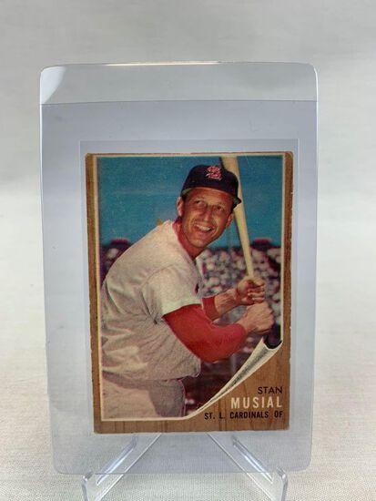 1962 Stan Musial Topps Baseball Card