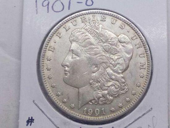 1901O MORGAN DOLLAR XF+