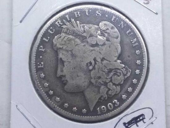 1903S MORGAN DOLLAR F
