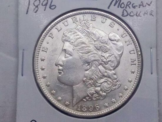 1896 MORGAN DOLLAR BU