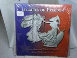 LEGACIES OF FREEDOM FROM U.S. & GREAT BRITAIN MINTS EAGLE & BRITAINNIA