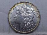 1897O MORGAN DOLLAR (TOUGH GRADE) UNC