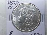 1878CC MORGAN DOLLAR CHOICE BU 1ST. YEAR