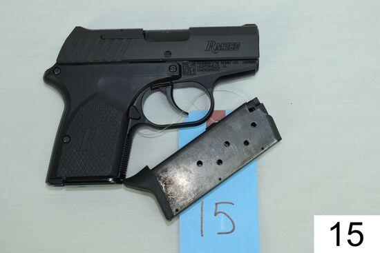 Remington    Mod RM 380    Cal .380 ACP    SN: RM069583C    2 Mags    Condition: Like NIB