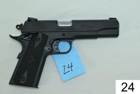 Taurus    Mod 1911    Cal 9mm    SN: TMT35064    Condition: Like NIB