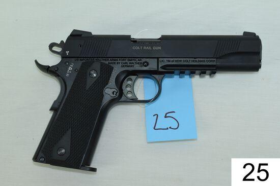 Colt    Mod 1911    Rail Gun    Cal .22 LR    SN: WD045803    Condition: Like NIB