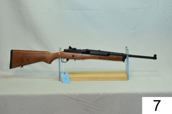 Ruger    Mini-14    Ranch Rifle    Cal .223 Rem/5.56    SN: 583-10030    W/Rings    Condition: Like