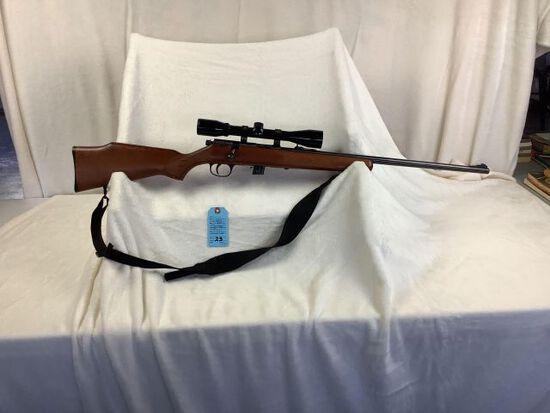 Marlin model 25N, 22 caliber, Bushnell scope