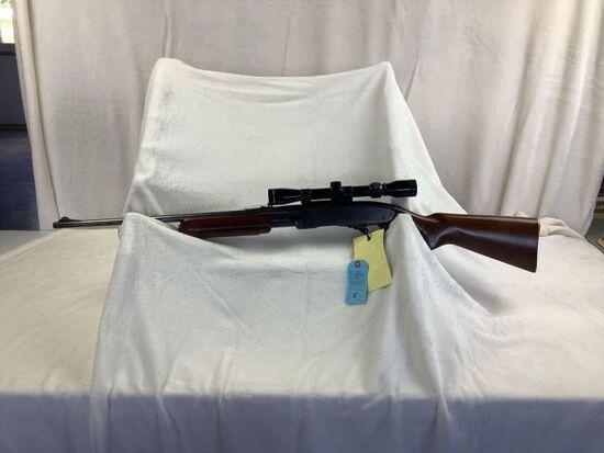 Remington model 760, 35 rem, Tasco scope