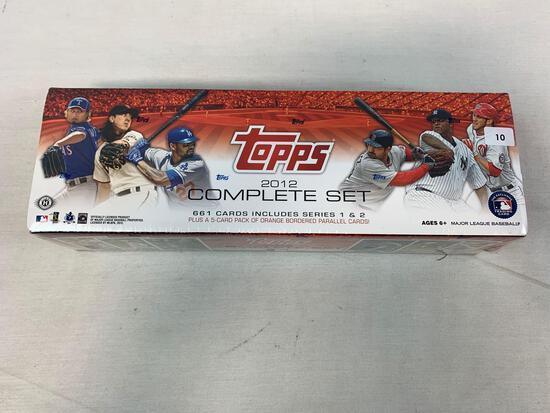 2012 Topps Factory Sealed Baseball Complete Set
