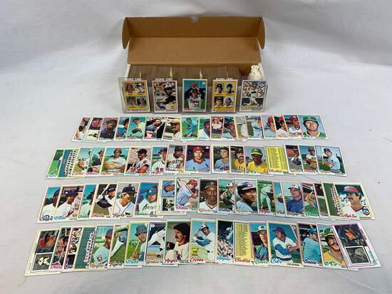 1978 Topps Baseball Complete Set EX-EX+