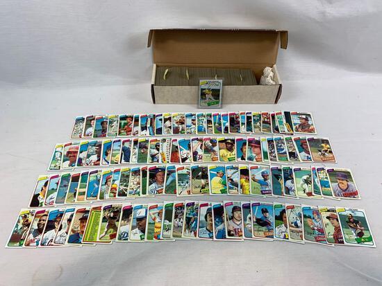 1980 Topps Baseball Complete Set w/ Rickey Henderson Rookie EX