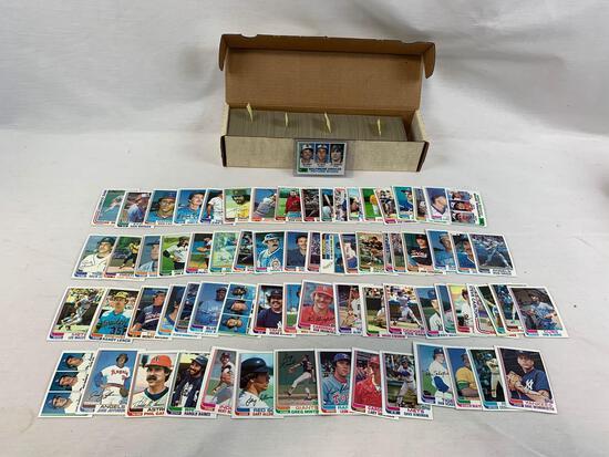 1982 Topps Baseball Complete Set NR-MT