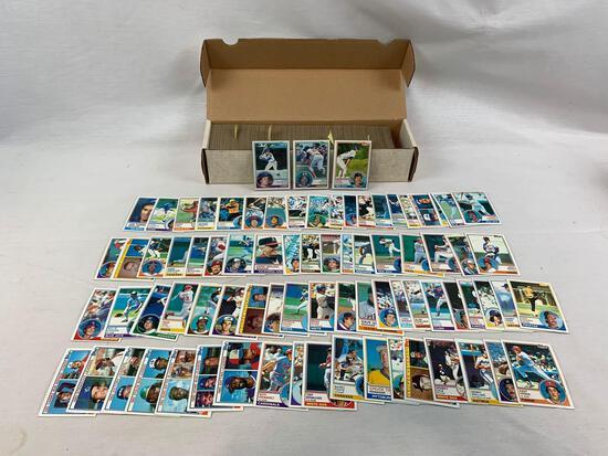 1983 Topps Baseball Complete Set w/ Sandberg, Gwynn Boggs Rookies EX+