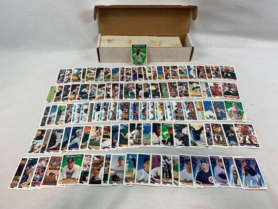 1993 Topps Baseball Complete Set w/ Derek Jeter Rookie NM