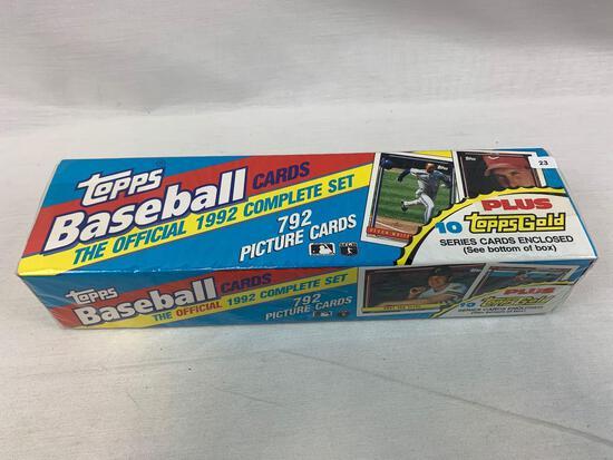 1992 Topps Baseball Factory Sealed Set