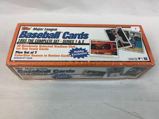 1995 Topps Factory Sealed Baseball Complete Set Series 1 & 2