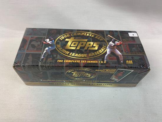 1996 Topps Factory Sealed Baseball Complete Set