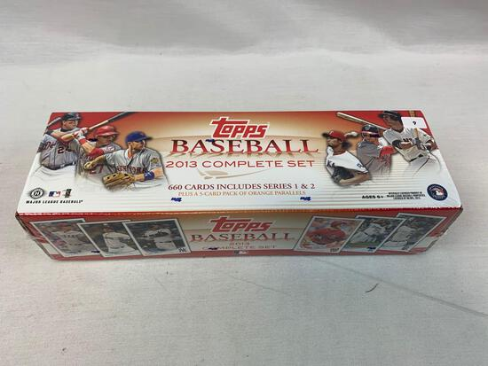 2013 Topps Factory Sealed Baseball Complete Set