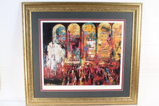 Metropolitan Opera, by Leroy Neiman.  Signed fine art print.