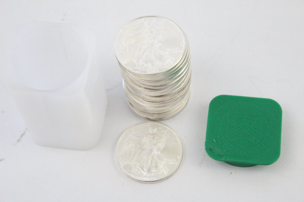 20 Silver Dollars