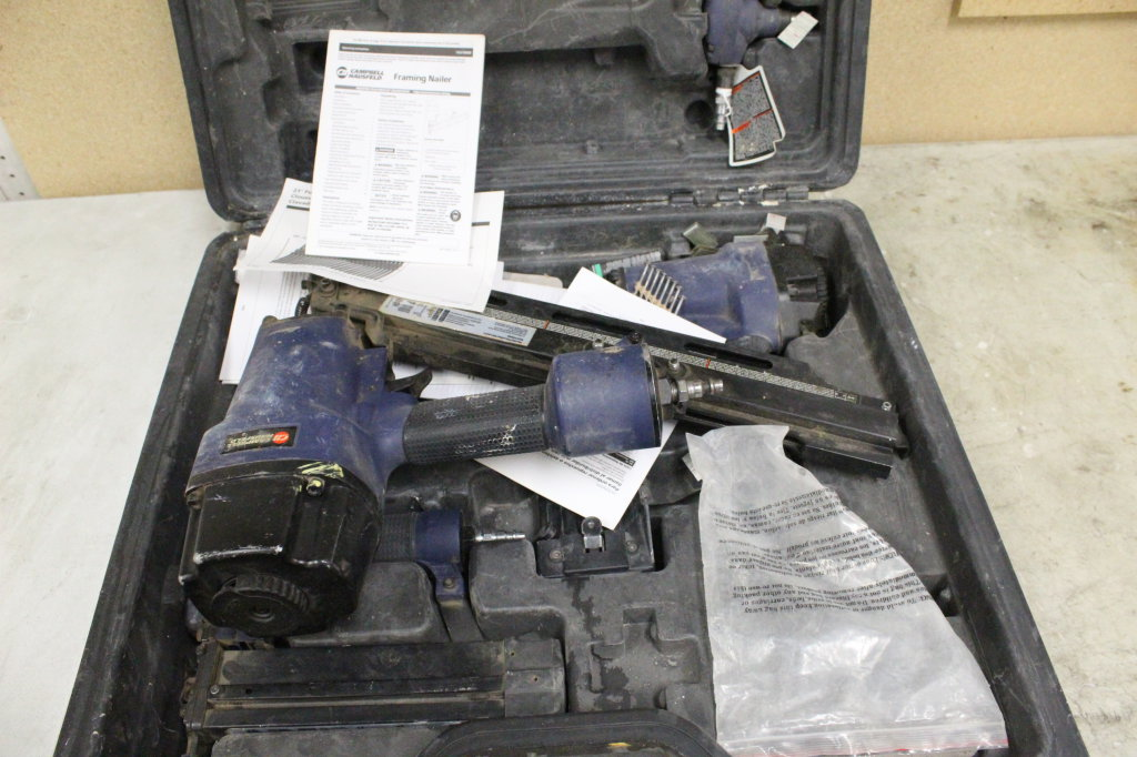 Campbell Hausfeld Air Nailer Set