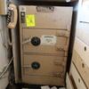 Adesco two door safe w/ dropbox & dial combinations