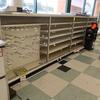 high value merchandising shelving w/ doors