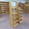 wooden merchandising unit