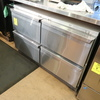 Continental 4) drawer undercounter freezer