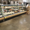 2004 Barker 12' curved glass bakery case