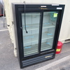 True sliding glass door refrigerated merchandiser