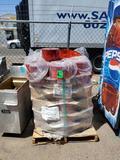 Pallet of Pharmaceutical Shrink Packaging