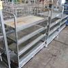 4-tier stocking carts