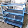 4-tier stocking cart