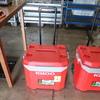 Igloo 60qt ice chest w/ wheels & handle