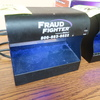 Fraud Fighter UV counterfeit detection scanner