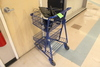 Small Shopping Cart W/ Keyboards